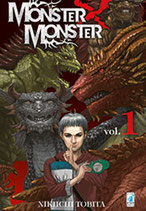 MONSTER X MONSTER da 1 a 3 [di 3] ed. star comics