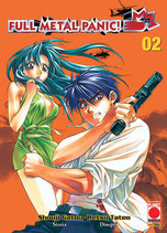 FULL METAL PANIC da 1 a 9 [di 9] ed. planet manga