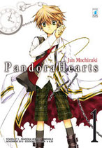 PANDORA HEARTS da 1 a 24 [di 24] + OFFICIAL GUIDE 8.5 MINE OF MINE + 18.5 EVIDENCE + 24+1 LAST DANCE! ed. star comics