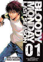 BLOODY MONDAY last season da 1 a 4 [di 4] ed. star comics 3° serie