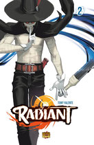RADIANT volume 2 ed. Mangasenpai