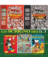 pack LO SCRIGNO DEI MILLE + DEI 500 + DEI N. 1 ed. panini comics TOPOLINO