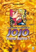 JOJO Le Bizzarre Avventure - VENTO AUREO da 1 a 10 [di 10] ed. star comics 5° serie