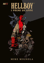 HELLBOY I PRIMI VENTI ANNI volume unico ed. Magic Press