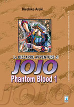 JOJO Le Bizzarre Avventure - PHANTOM BLOOD da 1 a 3 [di 3] ed. star comics 1° serie