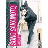 SONO SAKAMOTO, PERCHE'? BOX da 1 a 4 [di 4] ed. j-pop manga