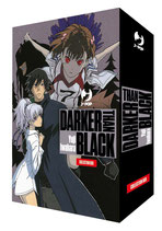 DARKER THAN BLACK: UN FIORE NERO PECE box da 1 a 4 ed. j-pop manga