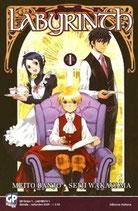 LABYRINTH da 1 a 8 [di 8] ed. GP manga