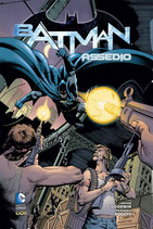 BATMAN: ASSEDIO volume unico ed. rw lion CARTONATO