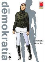 DEMOKRATIA da 1 a 5 [di 5] ed. planet manga