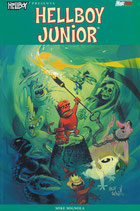 Hellboy presenta: HELLBOY JUNIOR volume unico ed. Magic Press