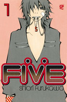 FIVE da 1 a 12 [di 15] ed. GP manga