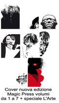 SIN CITY (nuova edizione) da 1 a 7 + speciale L'ARTE serie completa ed. Magic Press by Frank Miller