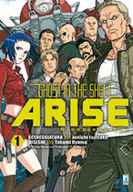 GHOST IN THE SHELL ARISE da 1 a 7 ed. star comics