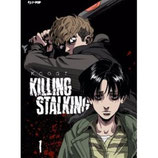 KILLING STALKING da 1 a 4 ed. j-pop