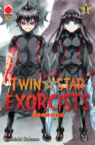 TWIN STAR EXORCISTS da 1 a 8 ed. planet manga