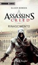 ASSASSIN'S CREED - RINASCIMENTO ed. Mondadori Comics romanzi