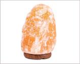 Salzkristall  Lampe ca. 20 cm / 2 - 3 kg