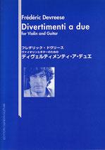 【楽譜】ドヴリース:ディヴェルティメンティ・ア・デュエ