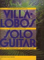 ヴィラ=ロボス:ギターソロ作品集(洋譜)