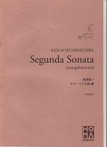 西澤 健一:ギターソナタ第2番(楽譜)