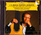 J.S.BACH:SUITES SONATA - Göran Söllscher -(セルシェル)(送料164円)