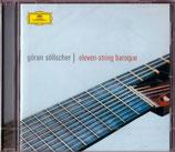 ELEVEN-STRING BAROQUE - Göran Söllscher -(セルシェル)(送料164円)