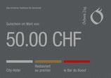 50 Franken Gutschein