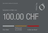 100 Franken Gutschein