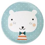 Petit Monkey Melamin KINDERTELLER Bär