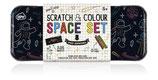 SCRATCH & COLOUR Set - Weltraum