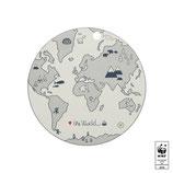 Placemat Die Welt- OYOY Design