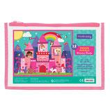 PUZZLE Prinzessinnen-Schloss, 12 Teile - mudpuppy