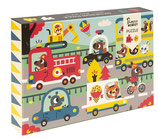 PUZZLE On the road, 24 Teile - Petit Monkey