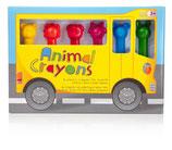 WACHSMALSTIFTE Animal Crayons