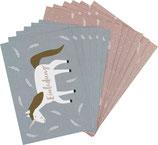 Einladungskarten-Set EINHORN - ava&yves