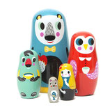 MATRYOSHKA Nesting dolls in the woods - Petit Monkey