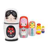 MATRYOSHKA Nesting dolls Fleur & Friends - Petit Monkey