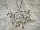 Kette rhodiniert Lebensbaum