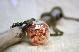 Kette Kupfer Hohlperle Kugel