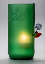 Windlicht Grün 2