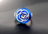 """Ringtop """"Silberrose"""" (ohne Ring)"""