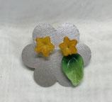 """Ohrstecker """"Gelbe Blume"""""""