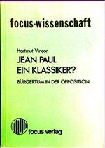 Vincon Hartmut, Jean Paul Ein Klassiker?