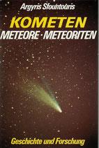 Sfountouris Argyris, Kometen, Meteore, Meteoriten