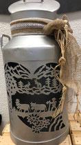 Milchkannen Laterne 40 Liter Alpabzug