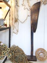 Wooden Rudder Blue #4012