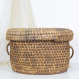 Japanese Fishing Basket #3487