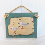 Driftwood Art - Gulls #2637