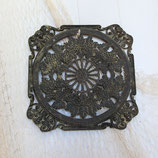 Pair of Decorative Brass Grates  #4155